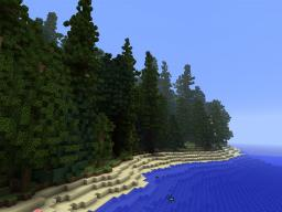 Forest Mountain [North American Pines] Minecraft Map & Project