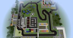 F1 race track and complex Minecraft Map & Project