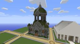 Ancient temple Minecraft Map & Project