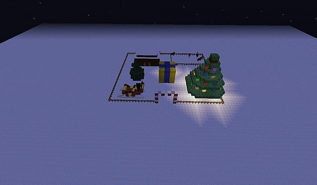 Christmas Land.Christmas Land Minecraft Project