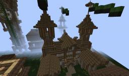 Clocktown Medieval Town Project; TKU Minecraft Map & Project