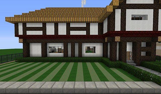 Modern Tudor Home Minecraft Project