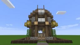Medieval Stable Minecraft Project