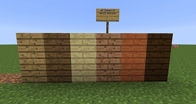 Block tutorial wood planks id 5 0 5 5 minecraft project for Plank blocks