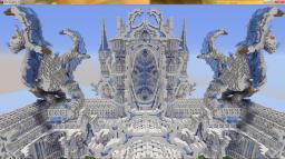 Designer Plot Spawn on IP: Emenbeesmp.com Minecraft Map & Project