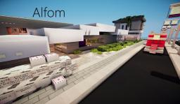Alfom   Contemporary Home   Collab with MrMikos20 Minecraft Map & Project