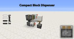 Compact Pop-Out Block Minecraft Map & Project