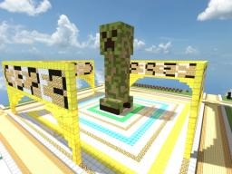 Creeper Statue Minecraft Project