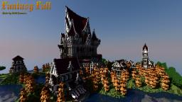Fantasy Fall | Medieval Fantasy Castle Minecraft Map & Project