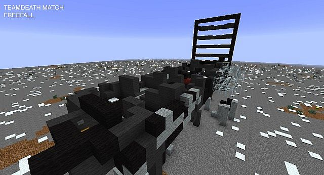 COD (call of duty) Ghosts freefall minigame Minecraft Project