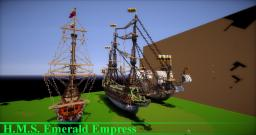 H.M.S. Emerald Empress Minecraft