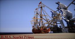 H.M.S. Scarlet Prince Minecraft