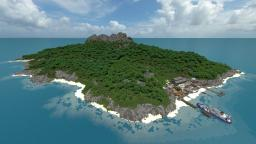 Takarajima - The forgotten island /realistic Custom terrain Minecraft Project