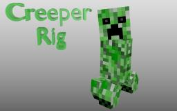 Creeper Rig [Blender] [IK Rigging] Minecraft Blog Post