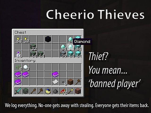 Cheerio Thieves