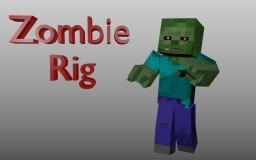 Zombie Rig [Blender] [IK Rigging] Minecraft Blog Post