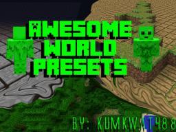 Awesome Flat(ish) Worlds Presets Minecraft Blog