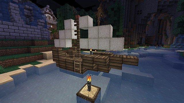 Small Boat - Custom Design Minecraft Project