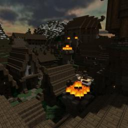 Stone hill- a viking village Minecraft Map & Project