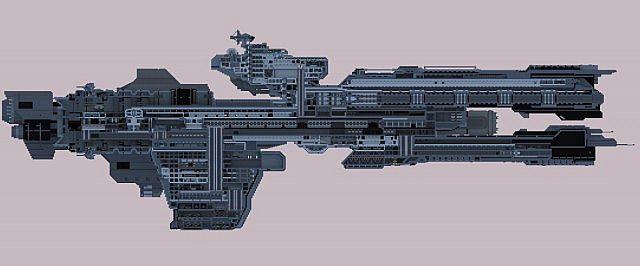Halo Frigate Blueprints halo unsc frigate - imagefiltr