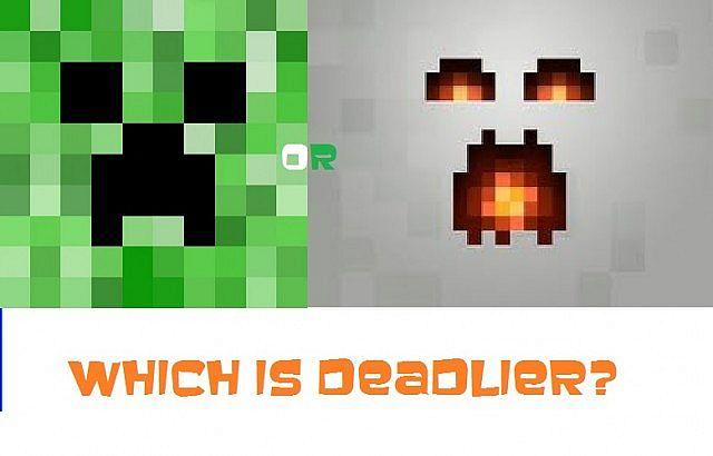 Creeper vs ghast which is deadlier minecraft blog - Minecraft zombie vs creeper ...