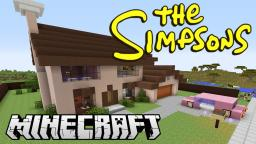 The Simpsons house in minecraft Minecraft