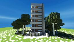 Modern Row Home Minecraft Map & Project