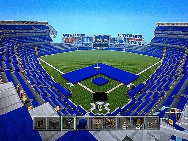 How To Build Wrigley Field In Minecraft