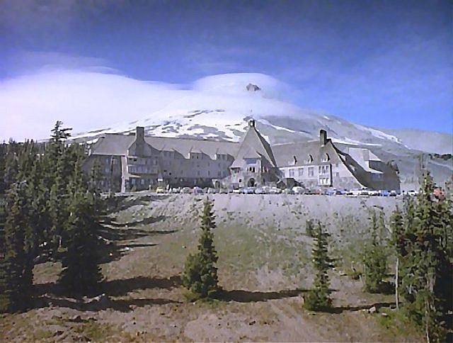 The Timberline Lodge they used to make The Shining. So much memories of looking trough those pictures came to my mind while I was looking for this picture.