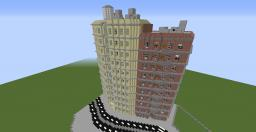 apartment skyscrapers Minecraft Map & Project