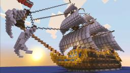 Galleon [HMS Royal Seas] Minecraft Map & Project