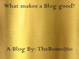 What makes a GOOD Blog?[Pop Reel] Minecraft Blog