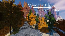 Minecraft Lover: Autumn Edition Minecraft Texture Pack