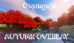 Autumn Overlay Fall Add-On  1.16 Minecraft Texture Pack