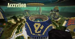Accretion (about 14 million blocks space station) Minecraft Map & Project