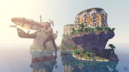 The Minotaurs Temple Islands Minecraft Map & Project