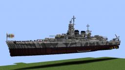 Battle ship Vittorio Venento Minecraft