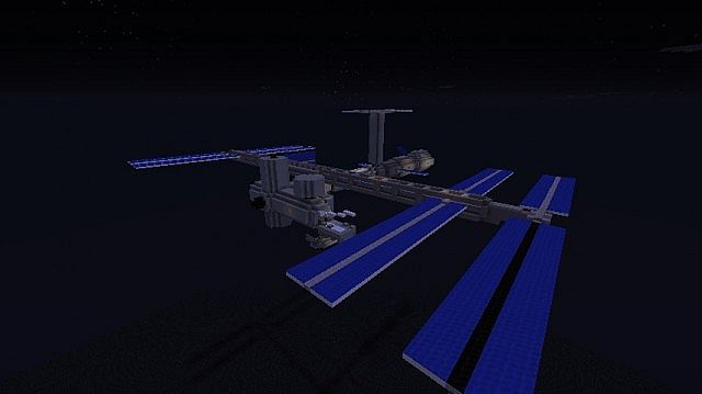 International Space Station [1:1 Scale] Minecraft Project