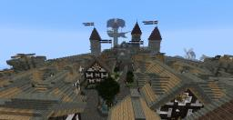Oden's Fort- Medieval/fantasy city Minecraft