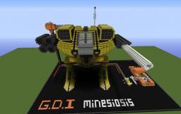 Global Defence Initiative Titan Mk. IV Minecraft Map & Project