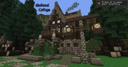 Little Medieval Cottage Minecraft Map & Project