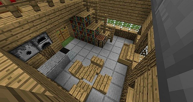 Epic log cabin minecraft project for Log cabin project
