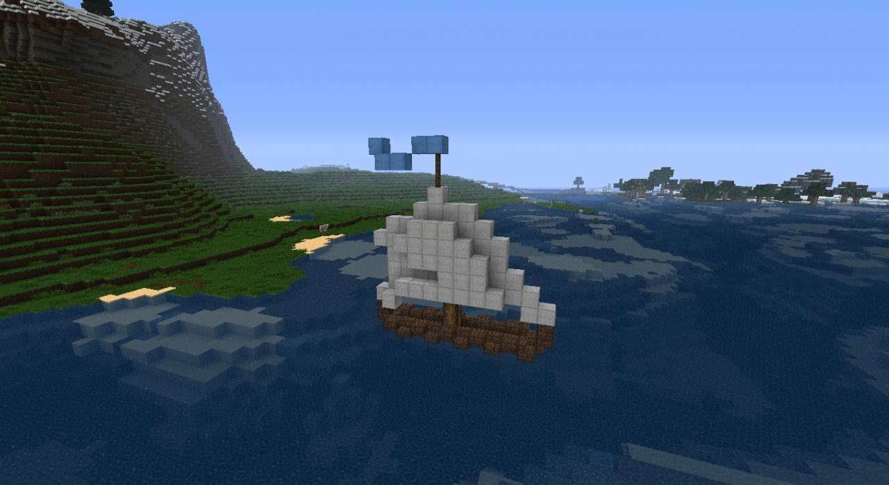 Small Fishing Boat ≈Pop Reel≈ Minecraft Project