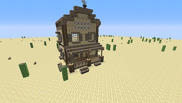 Lets Build/ Western house/shop 1 Minecraft Project