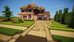 Realistic/Trad House Minecraft Map & Project