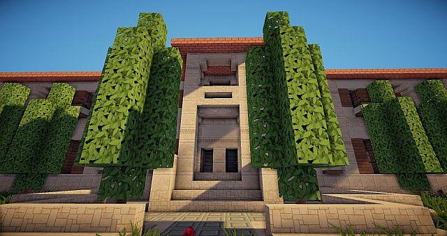 Italian Style Mansion Minecraft Project