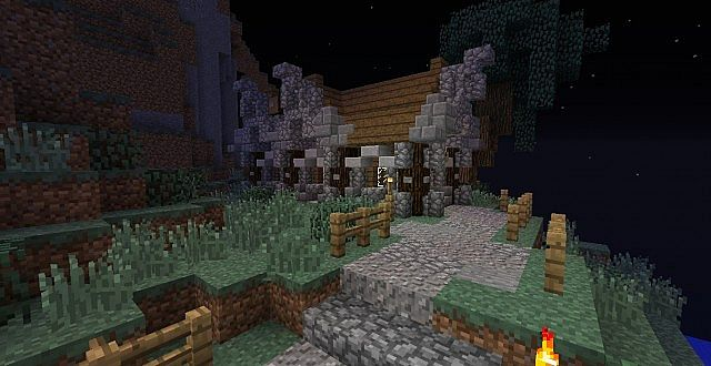 Medieval mountain home minecraft project - Mountain house projects ...