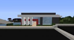 Modern Beach House 3 Minecraft