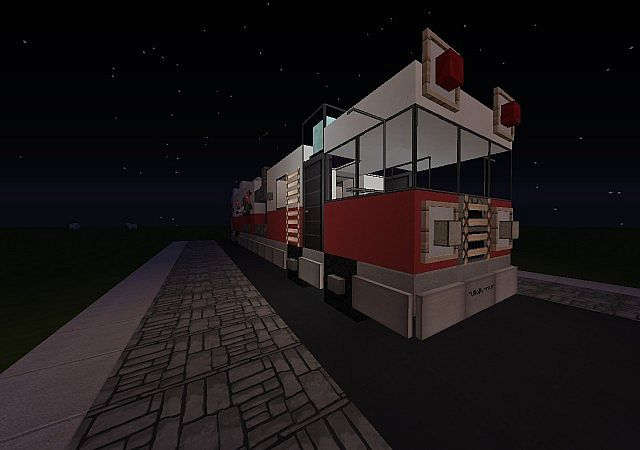 Fire Truck Fire Engine Minecraft Project - Wiring Diagram
