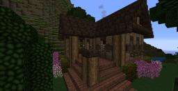 Small mountain cottage + tutorial video by poohcraft (get inspired) Minecraft Map & Project